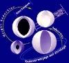 Application de bulles de verre creuses dans les cendres atomiques